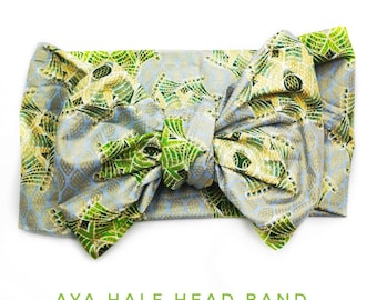 Aya Head wrap, head band, African fabric, gift for her,handmade, christmas gift ideas, matching items, unique designs, African