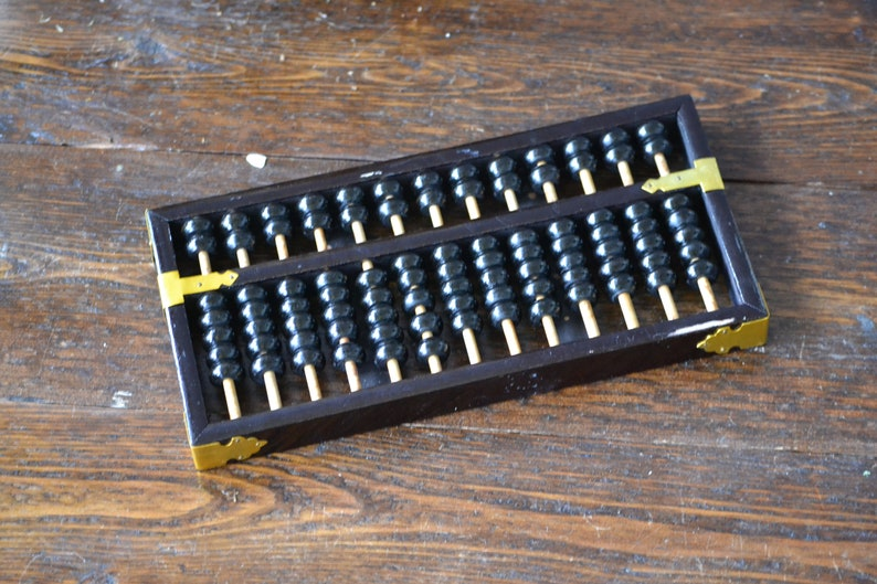 Lotus Flower Brand Abacus Made In The Peoples Republic Etsy