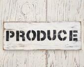 Produce Sign | farmhouse ...