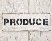 Produce Sign   farmhouse ...