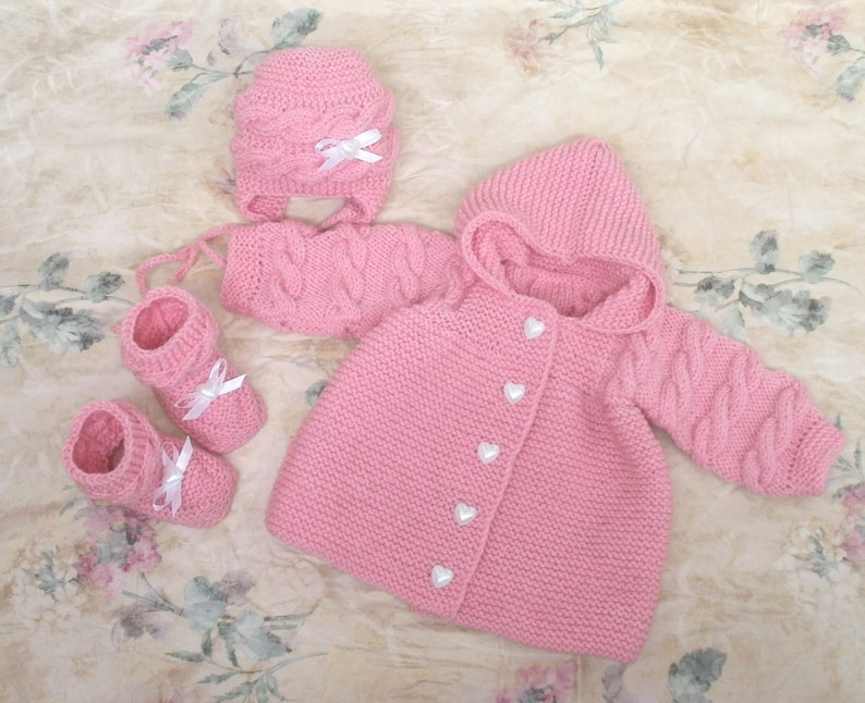 02dc84ccb82 Newborn outfit winter pink baby girl set coming home outfit