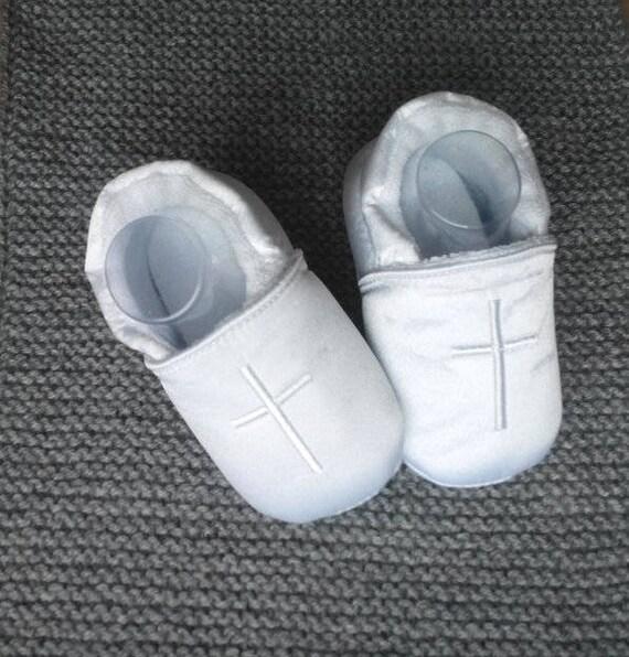 Taufe Babyschuhe Junge Schuhe Mädchen Booties Stoff Schuhe Die Taufe Baby Weiche Sohle Walker Taufe Neugeborenes Geschenk
