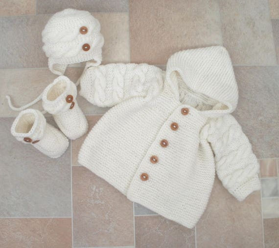 fcb7f89b0 Newborn set baby boy winter clothes coming home outfit