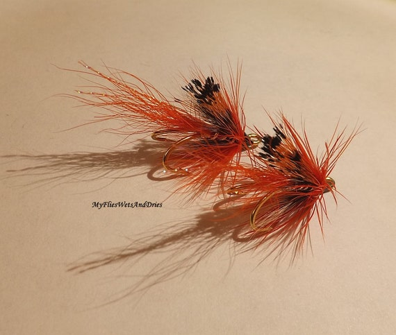Ally Shrimp Salmon Fly Fishing  Flies single hook by Dragonflies