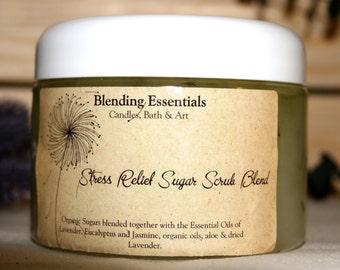 Stress Relief Sugar Scrub Blend