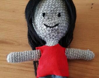 Adventure Time, Marceline Vampire Crochet Plush
