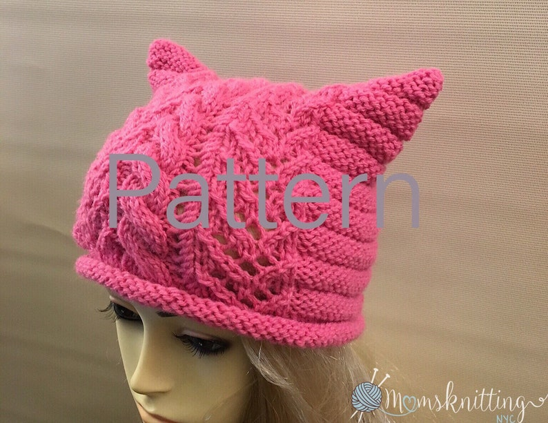 9c4ade4fb68 Pink Pussyhat Pattern Pussy Hat Pattern Womens March Hat