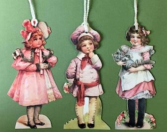 Victorian Children Bookmarks Old Print Factory