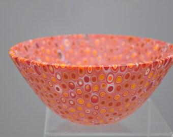 G105 Kiln Formed Orange Glass Mix 37 pieces