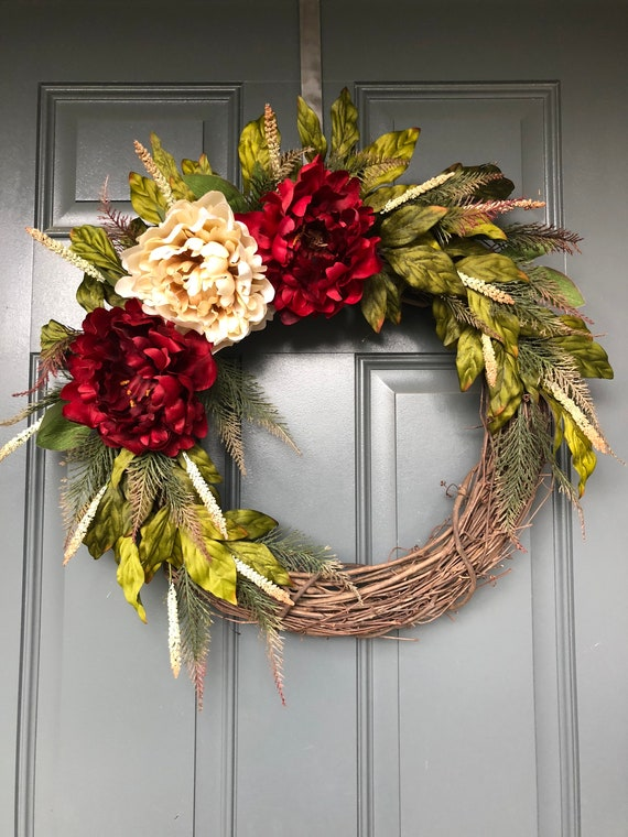 Fall Wreaths Fall Wreaths For Front Door Fall Wreath Front Etsy