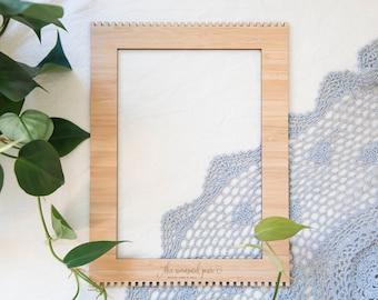 Medium Bamboo Weaving Loom