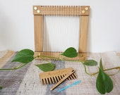 The Little Loom - Small Bamboo Weaving Loom Kit