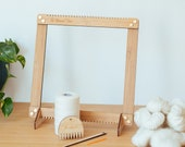"The Beginner Weaving Loom - medium size 30cm x 30cm (12"" x 12"")"