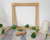 The Beginner Loom - Medium Bamboo Weaving Loom Kit 30cm x 30cm