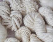 Natural Yarn Bundle - 200g or 400g - includes, wool, mohair and alpaca yarns