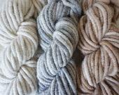 Core Spun Alpaca Rug Yarn - White, Grey or Fawn - 100g or 200g