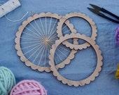Small Round Weaving Looms - shape loom, weaving loom, weaving kit, circular weaving, round loom