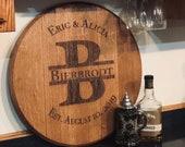Engraved Barrel Lid, Pers...