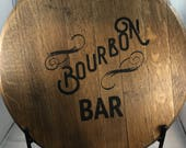 Bourbon Barrel Head/Monog...