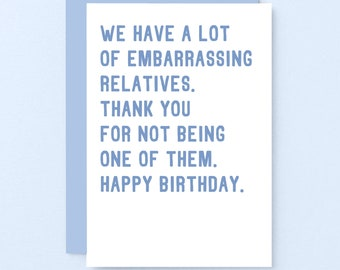 Brother | Funny Happy Birthday Greeting Handmade Cards for BFF Cousin Best Friend Sister Birthday Girl Boy It Is Your Birthday