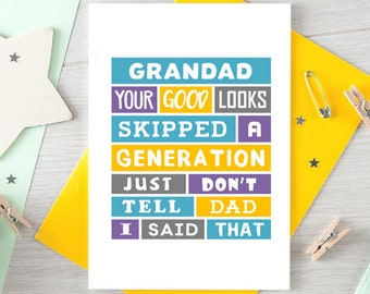 grandfather fathers day card first fathers day fantastic etsy