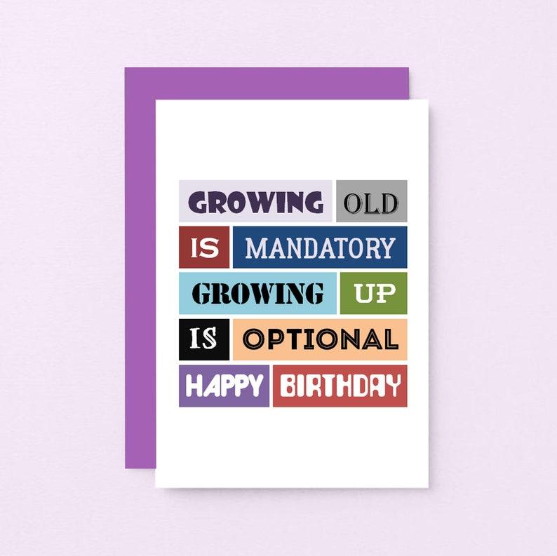 Funny Birthday Card For Friend Cheeky Quote