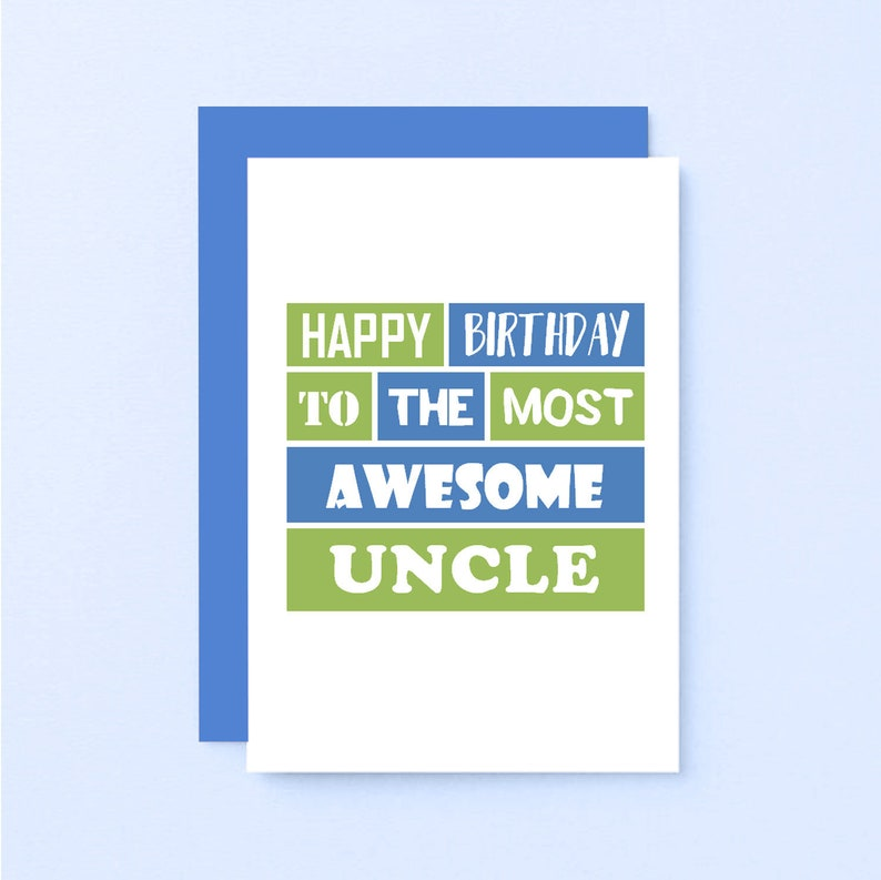 Birthday Card For Uncle From Niece Happy
