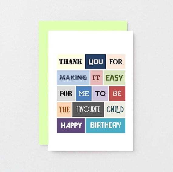 Lustige Schwester Geburtstag Karte Bruder Glucklich Geburtstag Etsy