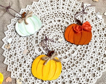 Mini Pumpkin Ornaments