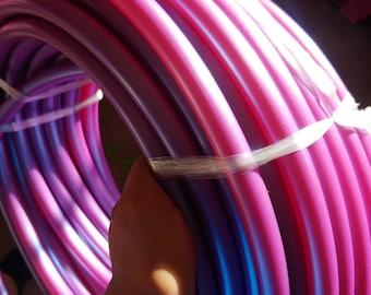 UV Tanzanite Color-shifting polypro collapsible dance hula hoop
