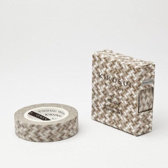 Washi Tape Nature 15mmx 15m Roll Decorative Sticky Paper Masking Tape Adhesive