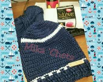 Crochet slouchy hat  4075f2c821f