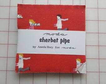 Sherbet Pips Charm Pack by Aneela Hoey for Moda, OOP &VHTF