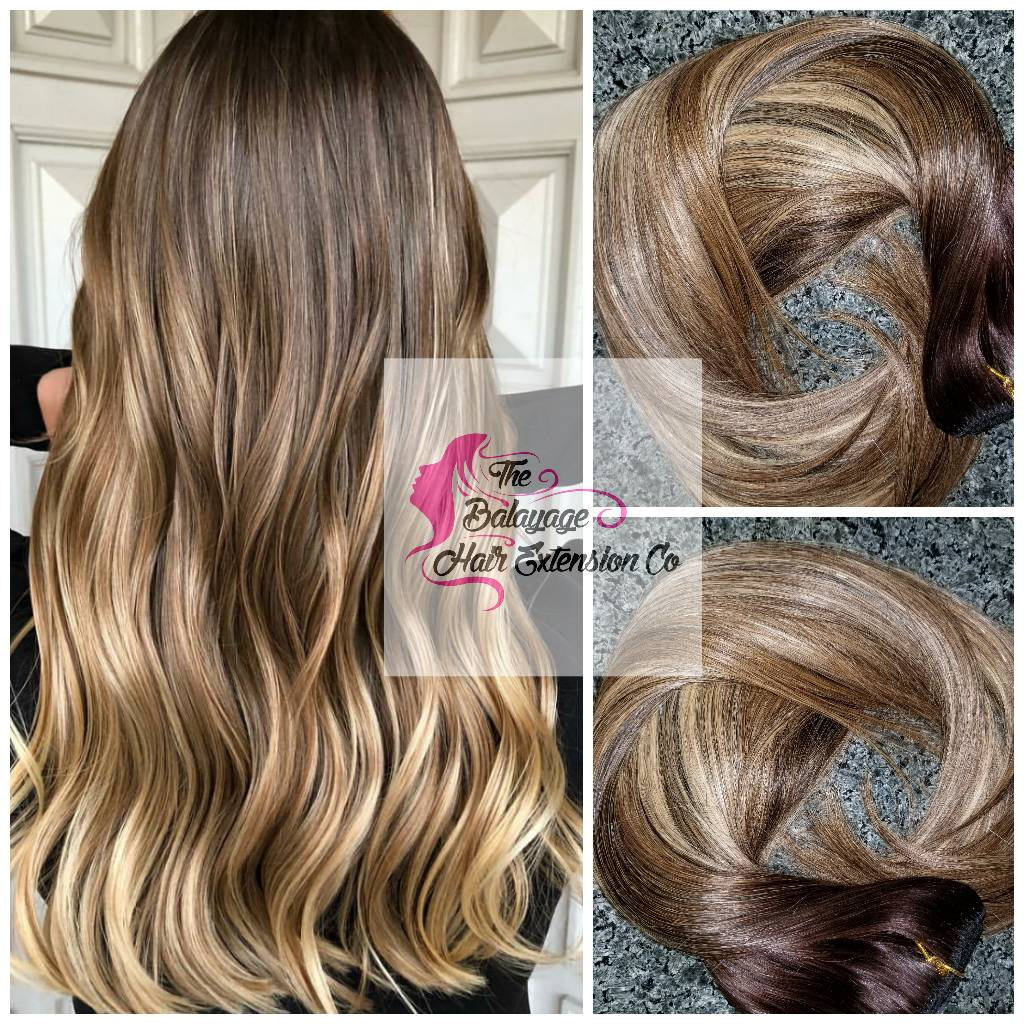 Balayage Remy Clip In Extensions 240 Grams 26 Inches Etsy