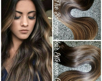 SALE, Hair Extensions, Balayage Hair Extensions, Clip In Hair Extensions