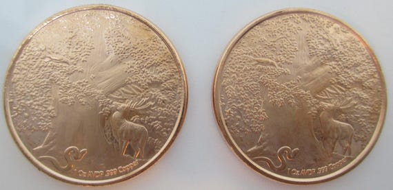 The World Tree 1 oz Copper Round Nordic Creatures Series Odin/'s Steed Sleipnir