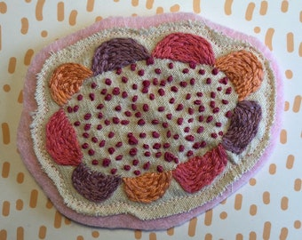Embroidered Flower Patch 2