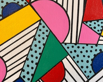 July Geomtric Abstract 1