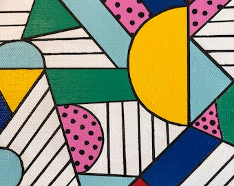 July Geomtric Abstract 2