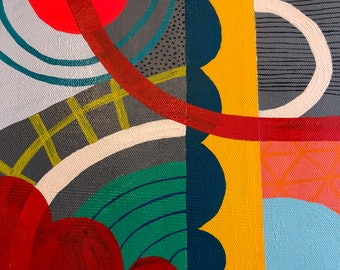 July Geomtric Abstract 3