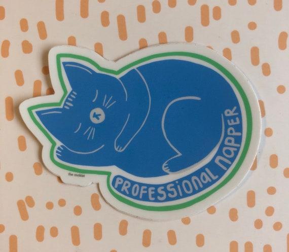 Vinyl Sticker Cat
