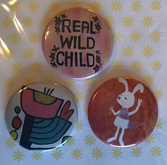 Wild Child Pin Set