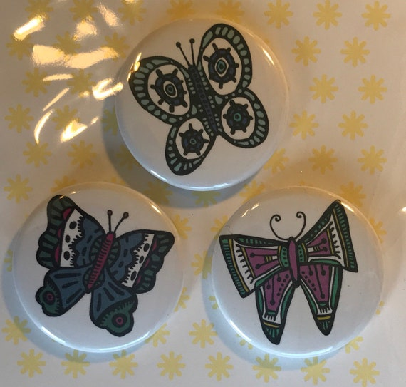 Butterfly Pin Set 2