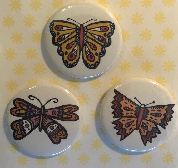 Butterfly Pin Set 1