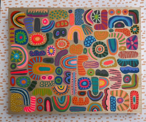 July 2019 Colorful Abstract