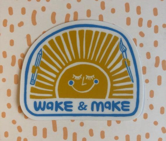 Vinyl Sticker Sun