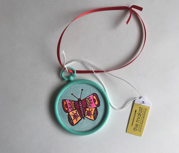 Butterfly Ornament 2