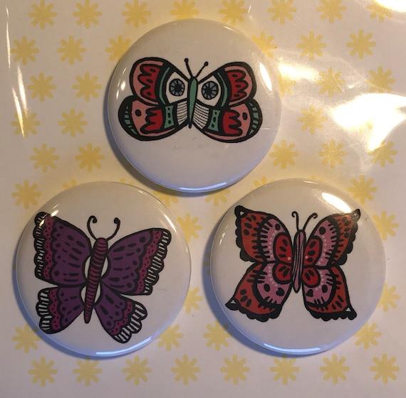 Butterfly Pin Set 3