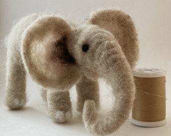 Needle felt Elephant