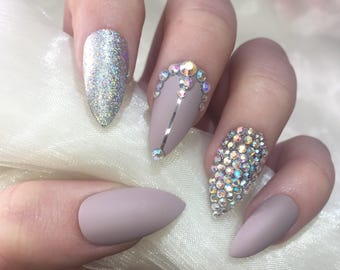 Holographic Nails Etsy